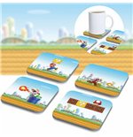 Super Mario 3D Coaster 8-Pack
