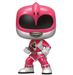 Power Rangers POP! Television Vinyl Figure Pink Ranger Metallic Limited 9 cm