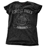 Ramones Ladies Fashion Tee: Forest Hills Vintage
