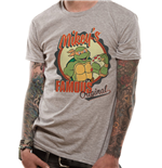 Teenage Mutant Ninja Turtles - Mikeys Original - Unisex T-shirt Grey