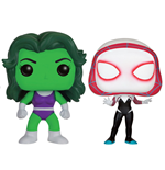 Marvel Comics POP! Marvel Vinyl Figures 2-Pack She-Hulk & Spider-Gwen 9 cm