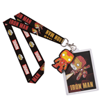 Marvel Comics POP! Lanyard with Rubber Keychain Iron Man