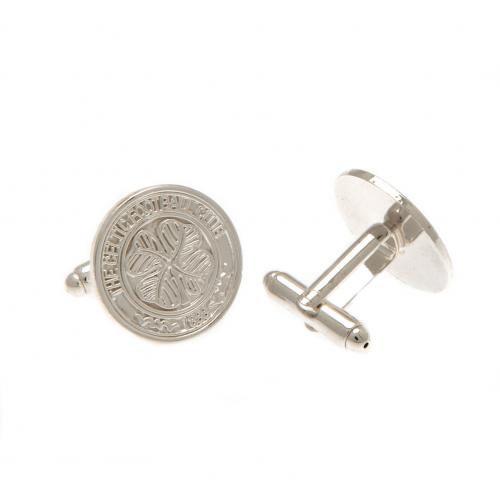 Celtic F.C. Silver Plated Cufflinks CR