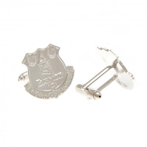 Everton F.C. Silver Plated Cufflinks CR