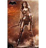 Batman vs Superman Poster - Wonder Woman