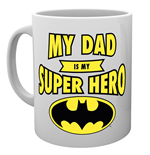 Batman Mug - Batman Dad Superhero