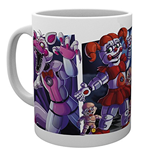 Five Nights at Freddy's Mug - Sister Location Characters
