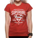 DC Comics Ladies T-Shirt Supergirl Better Than Ever