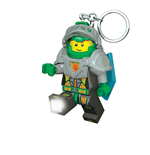 Lego Nexo Knights Mini-Flashlight with Keychains Aaron