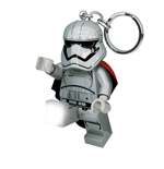 Lego Star Wars Mini-Flashlight with Keychains Captain Phasma