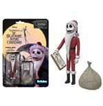 Nightmare Before Christmas ReAction Action Figure Santa Jack 10 cm