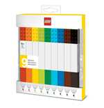 LEGO Markers 9-Pack Bricks