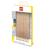 LEGO Pencils 9-Pack Bricks