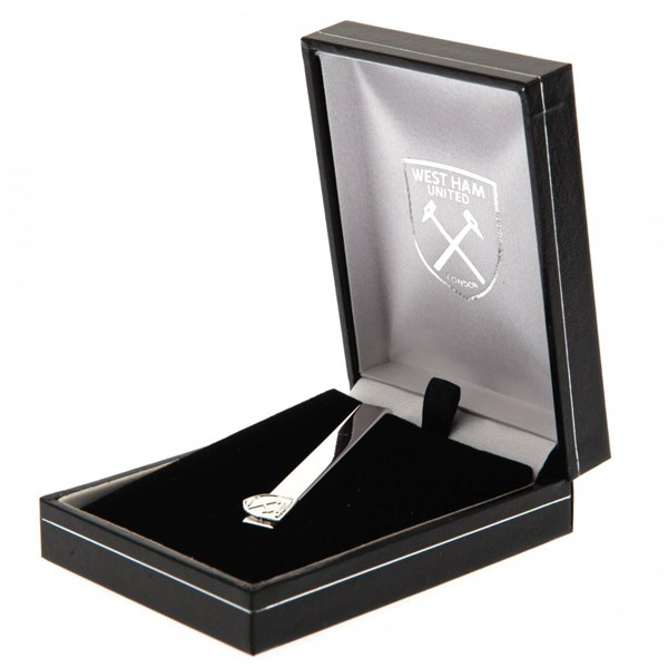 West Ham United F.C. Silver Plated Tie Slide