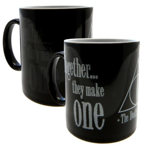 Harry Potter Heat Changing Mug Deathly Hallows