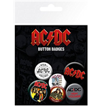 AC/DC - Mix Badge Pack