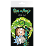 Rick and Morty Keychain - Rick And Morty