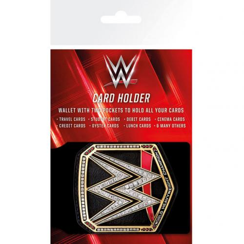 WWE Card Holder Title Belt