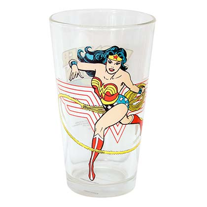 Wonder Woman Pint Glass