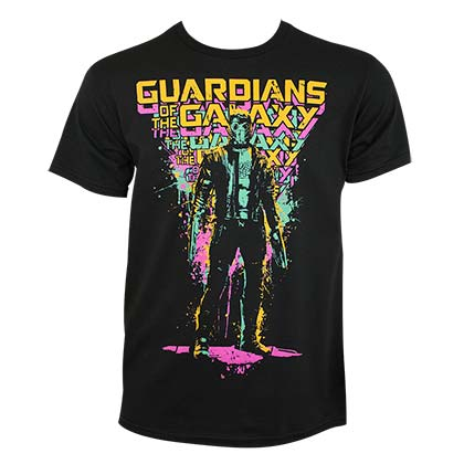 GUARDIANS OF THE GALAXY Splatter Tee Shirt