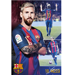 Barcelona Poster - Messi Collage 16/17