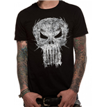 Punisher - Shatter Skull - Unisex T-shirt Black