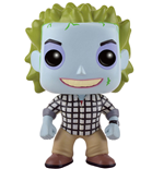Beetlejuice POP! Movies Vinyl Figure Beetlejuice Check Shirt 9 cm