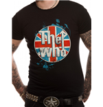 The Who - Logo Standing - Unisex T-shirt Black