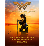 Wonder Woman Movie - Main Logo - Unisex T-shirt Black