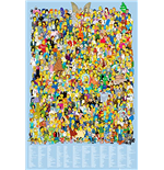 The Simpsons Poster  - Cast 2012 - 61x91,5 Cm