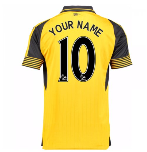 2016-17 Arsenal Away Shirt (Your Name) -Kids
