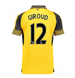 2016-17 Arsenal Away Shirt (Giroud 12)