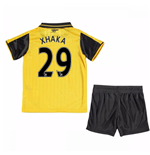 2016-17 Arsenal Away Mini Kit (Xhaka 29)
