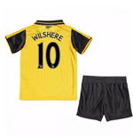2016-17 Arsenal Away Mini Kit (Wilshere 10)