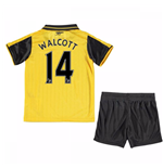 2016-17 Arsenal Away Mini Kit (Walcott 14)