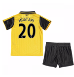 2016-17 Arsenal Away Mini Kit (Mustafi 20)