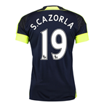2016-17 Arsenal Third Shirt (S.Cazorla 19) - Kids