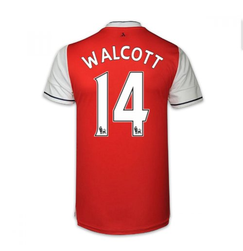 2016-17 Arsenal Home Shirt (Walcott 14) - Kids
