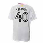 2016-17 Aston Villa Away Shirt (Grealish 40)