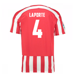 2016-17 Athletic Bilbao Home Shirt (Laporte 4)