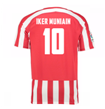 2016-17 Athletic Bilbao Home Shirt (Iker Muniain 10)