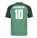 2016-17 Athletic Bilbao Away Shirt (Iker Muniain 10)