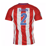 2016-17 Atletico Madrid Home Shirt  (Godin 2) - Kids