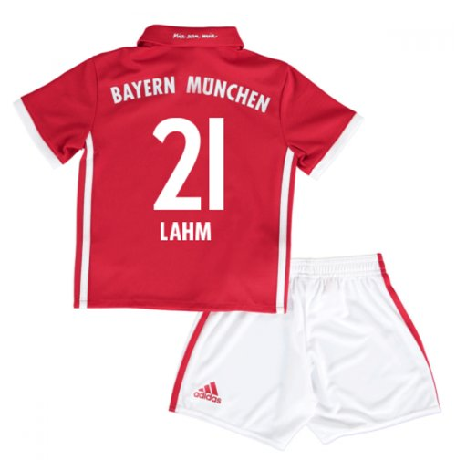 2016-17 Bayern Munich Home Mini Kit (Lahm 21)