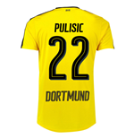 2016-17 Borussia Dortmund Home Shirt  (Pulisic 22) - Kids