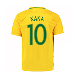 2016-17 Brazil Home Shirt (Kaka 10) - Kids