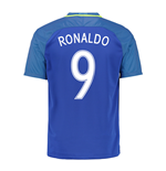 2016-17 Brazil Away Shirt (Ronaldo 9) - Kids