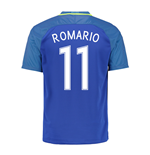 2016-17 Brazil Away Shirt (Romario 11) - Kids