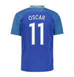 2016-17 Brazil Away Shirt (Oscar 11) - Kids