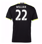 2016-17 Chelsea Away Shirt (Willian 22) - Kids